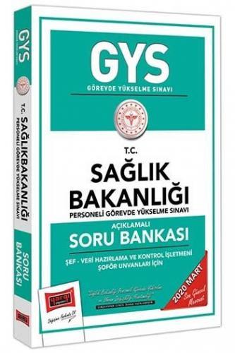 Yargı Yayınları GYS T.C. Sağlık Bakanlığı Şef Veri Hazırlama ve Kontrol İşletmeni Şoför Unvanları Açıklamalı Soru Bankası