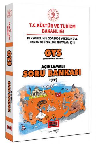 Yargı Yayınları GYS T.C. Kültür ve Turizm Bakanlığı Şef İçin Açıklamal