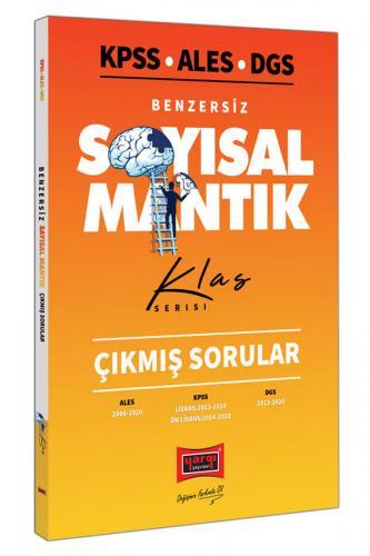 Yargı Yayınları KPSS ALES DGS Benzersiz Sayısal Mantık Çıkmış Sorular