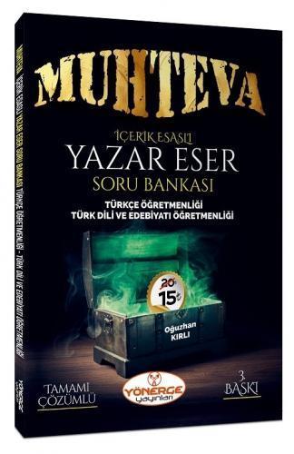 Yönerge Yayınları 2020 ÖABT Muhteva İçerik Esaslı Çözümlü Yazar Eser Soru Bankası