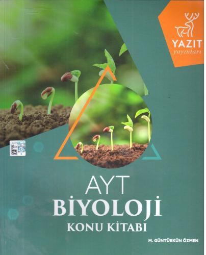 Yazıt Yayınları AYT Biyoloji Konu Kitabı