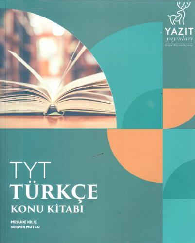 Yazıt Yayınları TYT Türkçe Konu Kitabı