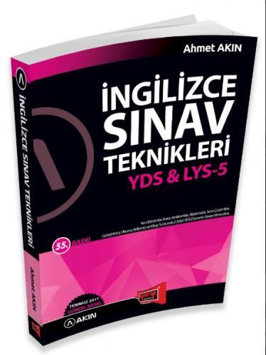 YDS LYS 5 İngilizce Sınav Teknikleri - Ahmet Akın