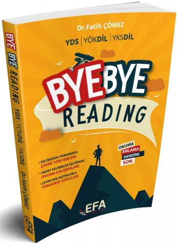 Benim Hocam YDS YÖKDİL YKSDİL Bye Bye Reading EFA SERİSİ