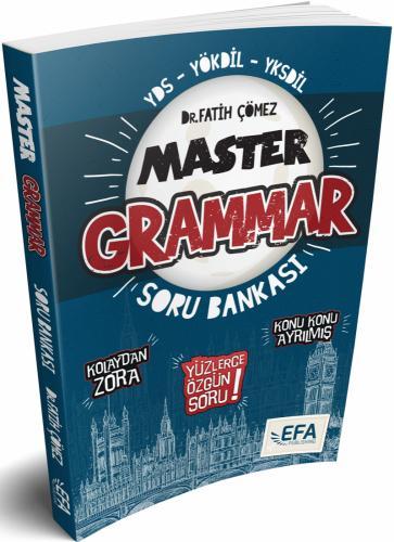 Benim Hocam YDS YÖKDİL YKSDİL Master Grammar Kolaydan Zora Soru Bankası EFA SERİSİ
