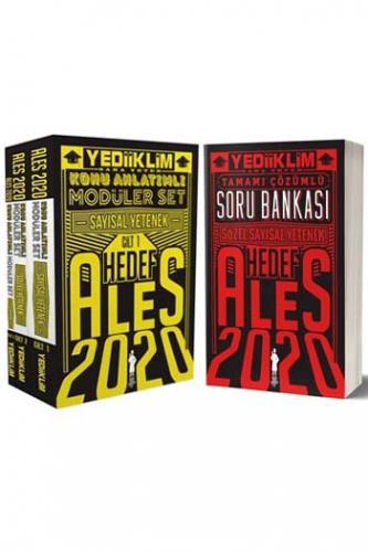 Yediiklim Yayınları 2020 ALES Sözel Sayısal Yetenek Konu Soru Seti Kom