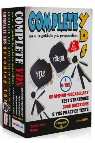 Yediiklim Complete YDS YÖKDİL Grammar - Vocabulary