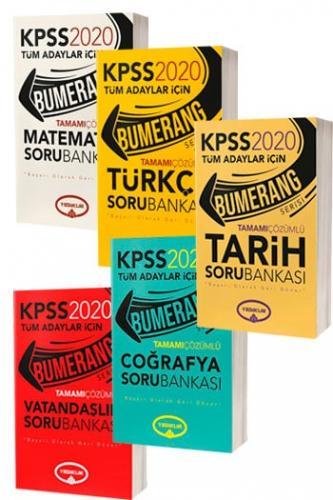Yediiklim Yayınları 2020 KPSS Bumerang Genel Yetenek Genel Kültür Tama