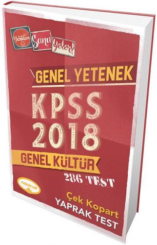 Yediiklim KPSS Genel Kültür Genel Yetenek Çek Kopart Yaprak Test
