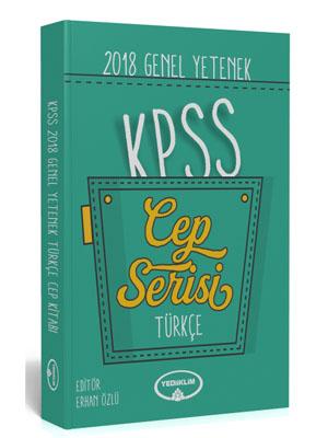 Yediiklim KPSS Genel Yetenek Türkçe Cep Kitapçığı