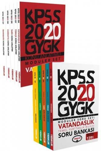 Yediiklim Yayınları 2020 Genel Yetenek Genel Kültür Modüler Konu Anlat