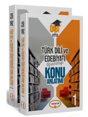 Yediiklim KPSS ÖABT Türk Dili ve Edebiyatı Öğretmenliği Konu Anlatımı Modüler Set (2 Kitap)