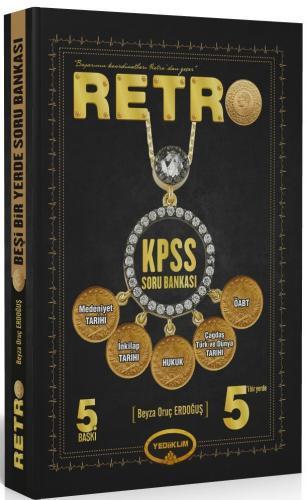 Yediiklim KPSS RETRO 5 i Bir Yerde Soru Bankası