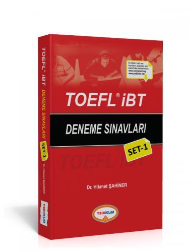 Yediiklim TOEFL IBT Deneme Sınavları Set 1 %35 indirimli Hikmet Şahine