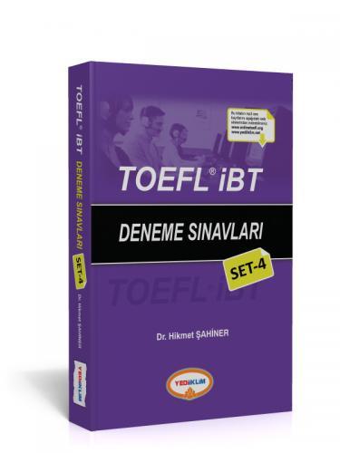 Yediiklim TOEFL IBT Deneme Sınavları Set 4