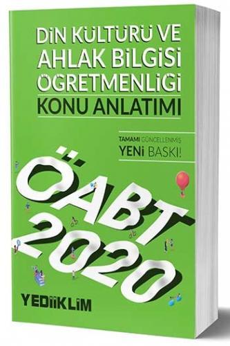 Yediiklim Yayınları 2020 ÖABT Din Kültürü ve Ahlak Bilgisi Öğretmenliği Konu Anlatımı
