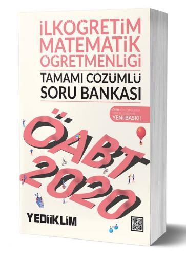 Yediiklim Yayınları 2020 ÖABT İlköğretim Matematik Öğretmenliği Tamamı Çözümlü Soru Bankası