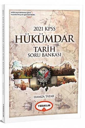 Yediiklim Yayınları 2021 KPSS Hükümdar Tarih Soru Bankası Hamza Tata