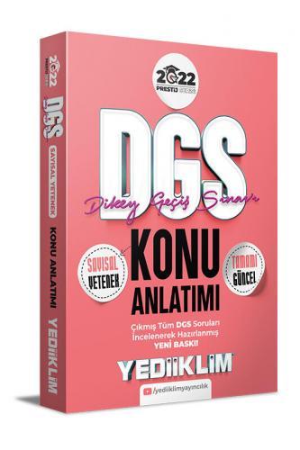 Yediiklim Yayınları 2022 DGS Sayısal Yetenek Konu Anlatımı Komisyon