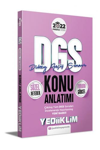 Yediiklim Yayınları 2022 DGS Sözel Yetenek Konu Anlatımı Komisyon