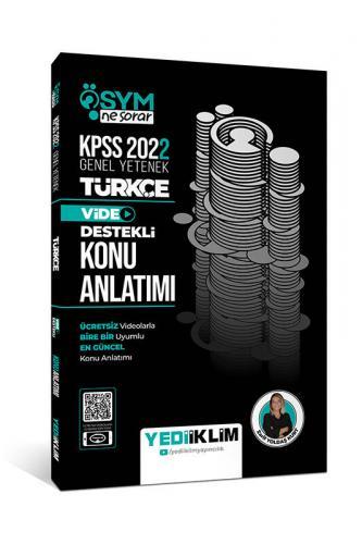 Yediiklim Yayınları 2022 KPSS Genel Yetenek ÖSYM Ne Sorar Türkçe Video