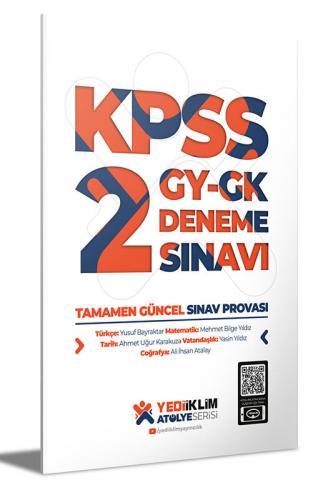 Yediiklim Yayınları Atölye Serisi KPSS Genel Yetenek Genel Kültür 2 De