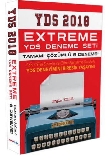 Yediiklim YDS Extreme Tamamı Çözümlü 8 Deneme Seti