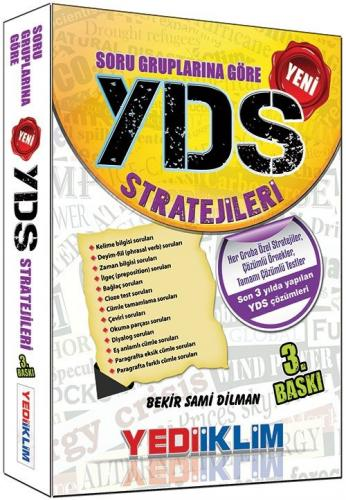 Yediiklim Soru Gruplarına Göre YDS Stratejileri
