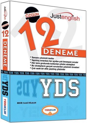 Yediiklim YDS Tamamı Çözümlü 12 Deneme Sınavı