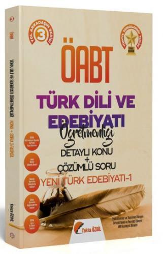 Yekta Özdil 2020 ÖABT Türk Dili ve Edebiyatı Öğretmenliği 3 Kitap Konu Anlatımlı Soru Bankası