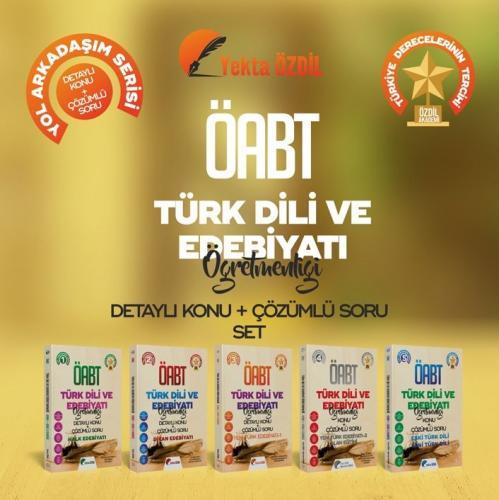 Yekta Özdil 2020 ÖABT Türk Dili ve Edebiyatı Öğretmenliği 5 Kitap Detaylı Konu Anlatımı ve Çözümlü Soru Bankası