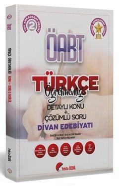 Yekta Özdil 2020 ÖABT Türkçe Öğretmenliği 2 Kitap Divan Edebiyatı Konu Anlatımlı Soru Bankası
