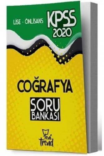 Yeni Trend Yayınları 2020 KPSS Lise Ön Lisans Coğrafya Soru Bankası %