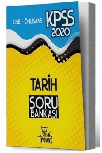 Yeni Trend Yayınları 2020 KPSS Lise Ön Lisans Tarih Soru Bankası