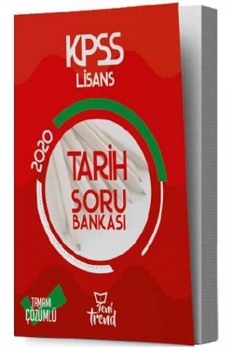 Yeni Trend Yayınları 2020 KPSS Tarih Tamamı Çözümlü Soru Bankası