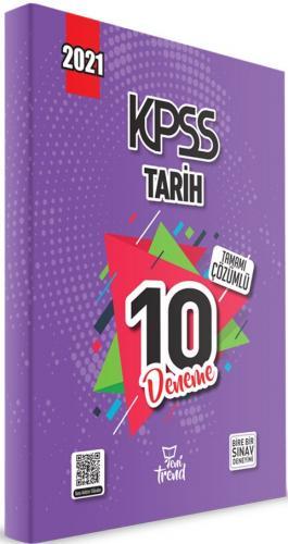 Yeni Trend 2021 KPSS Tarih Tamamı Çözümlü 10 Deneme Komisyon