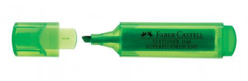Faber-Castell Şeffaf Gövde Fosforlu Kalem Yeşil