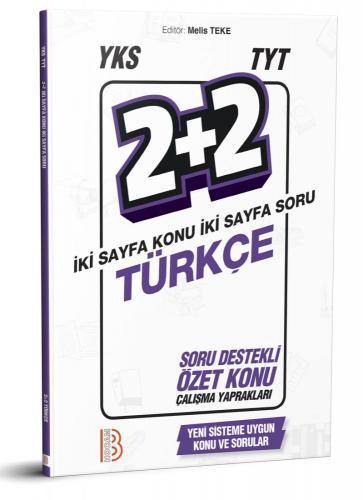 Benim Hocam YKS TYT Türkçe 2+2 Soru Destekli Özet Konu Çalışma Yaprakları