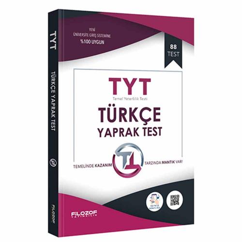 Filozof TYT Türkçe Yaprak Test