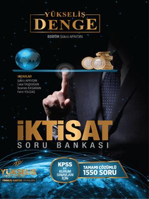 Yükseliş Kariyer KPSS A Grubu Denge Serisi İktisat Soru Bankası