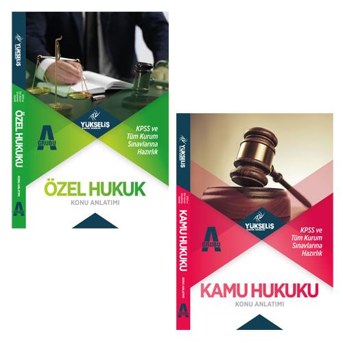 Yükseliş Kariyer KPSS A Hukuk Konu Anlatımı- Kamu Hukuku, Özel Hukuk (2 Kitap)