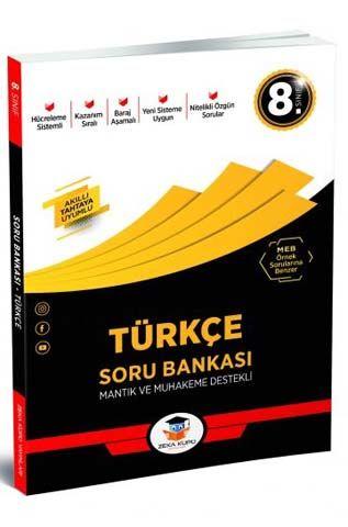 Zeka Küpü Yayınları 8. Sınıf Türkçe Soru Bankası %30 indirimli Komisyo