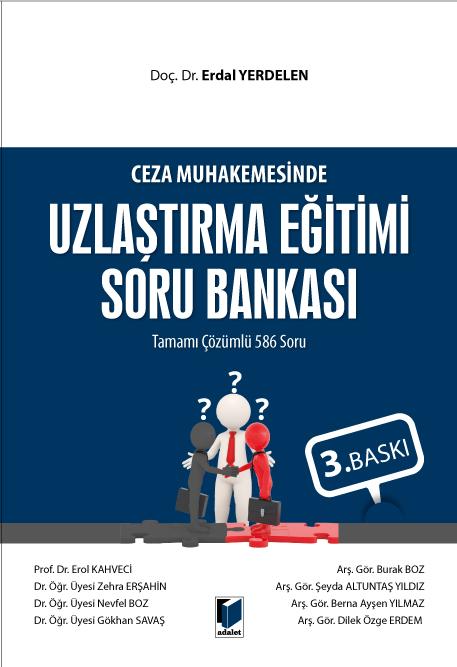 ceza muhakemesinde uzlastirma egitimi soru bankasi tamami cozumlu 586 soru