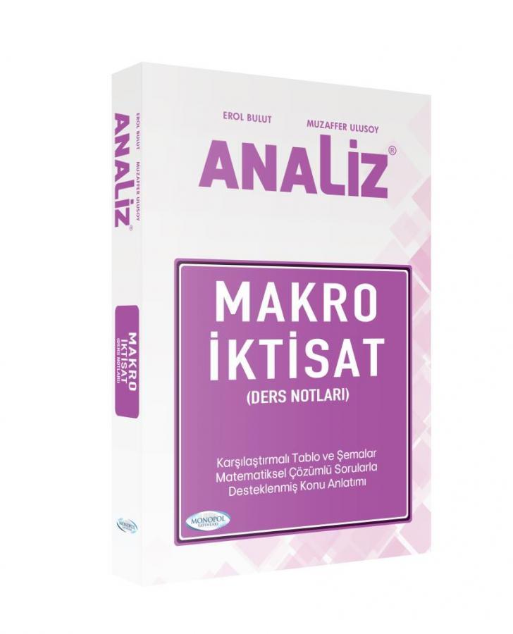 Monopol Analiz Makro Iktisat Ders Notları 2019