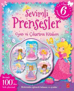 Sevimli Prensesler Oyun ve Çıkartma Kitabım