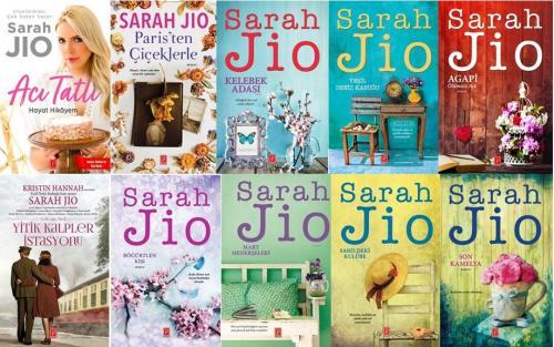 Sarah Jio 10 Kitap Set Sarah Jio