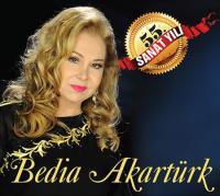 Bedia Akartürk 55. Sanat Yılı  (Plak)