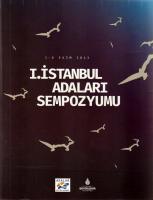 I. İstanbul Adaları Sempozyumu
