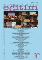 Alternatif Eğitim Dergisi Sayı 8 Güz 2018
