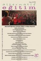 Alternatif Eğitim Dergisi Sayı: 9 Kış 2018